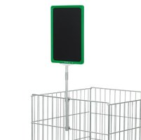 Plakkaathouder DK, kleur T-stuk: transparant met raam A4