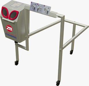 ZB Automatische Hygienestation + Winkelwagenunit