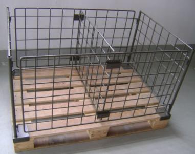 Separatie voor pallet omranding 120x80x59cm