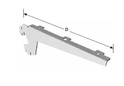 Schapdragers 37cm glas/hout per set van 2 stuks